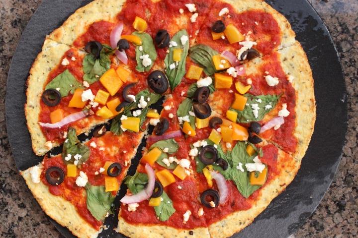 Gluten Free Cauliflower PizzaCrust