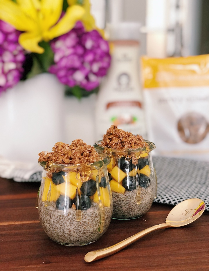 Basic Vanilla Chia Seed Pudding